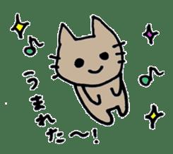 maternity stamp cat sticker #599403