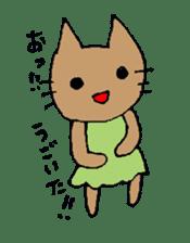maternity stamp cat sticker #599409