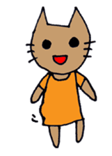 maternity stamp cat sticker #599420