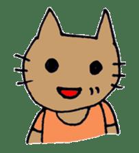 maternity stamp cat sticker #599423