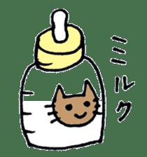 maternity stamp cat sticker #599427
