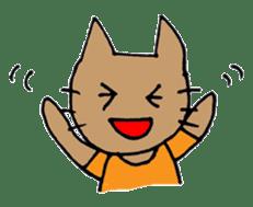 maternity stamp cat sticker #599428