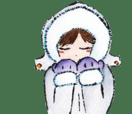 Urara-chan & Lala's Fluffy Everyday sticker #599689
