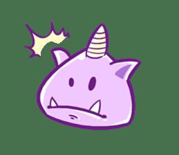 ONIKO the rice ball sticker #600341