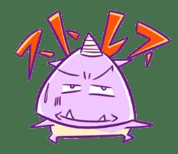 ONIKO the rice ball sticker #600361
