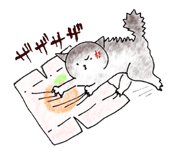 I'm sorry in the cat sticker #601077