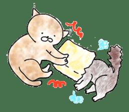 I'm sorry in the cat sticker #601097