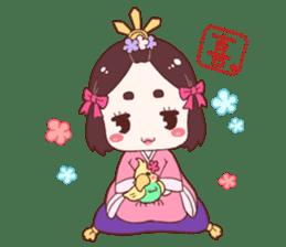 Okame and Parakeet sticker #601394