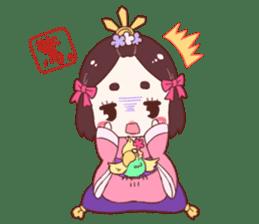 Okame and Parakeet sticker #601398