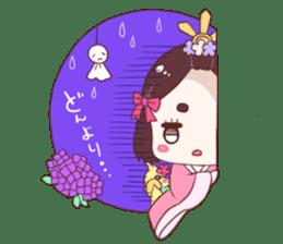 Okame and Parakeet sticker #601405