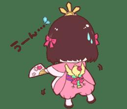 Okame and Parakeet sticker #601406