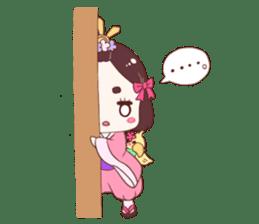 Okame and Parakeet sticker #601410