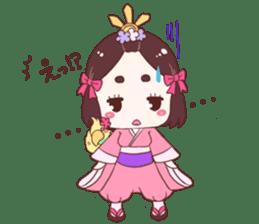 Okame and Parakeet sticker #601412