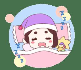 Okame and Parakeet sticker #601418
