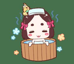 Okame and Parakeet sticker #601419