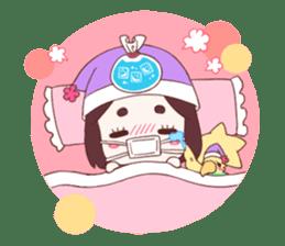 Okame and Parakeet sticker #601429