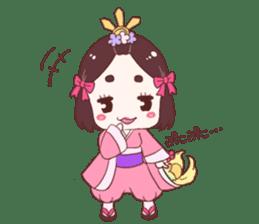 Okame and Parakeet sticker #601431