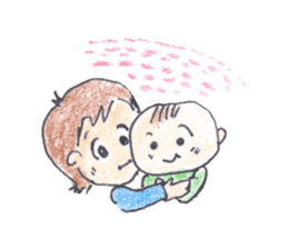 Mother and Children sticker #601518