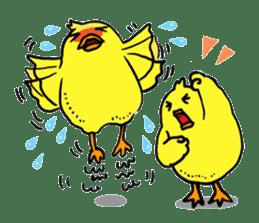 Bird man ~Torio~ sticker #602454