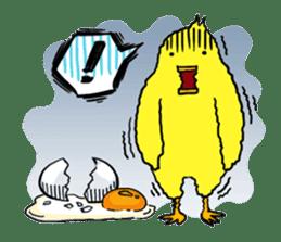 Bird man ~Torio~ sticker #602457
