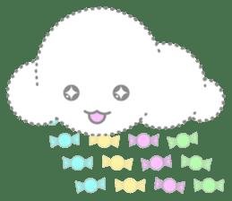 Cloudy Cute sticker #602676
