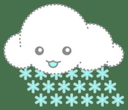 Cloudy Cute sticker #602684