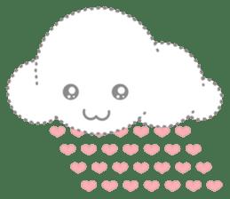 Cloudy Cute sticker #602690