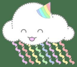 Cloudy Cute sticker #602696