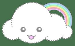 Cloudy Cute sticker #602697