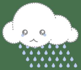 Cloudy Cute sticker #602698