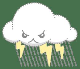 Cloudy Cute sticker #602706