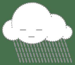 Cloudy Cute sticker #602707