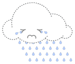 Cloudy Cute sticker #602708