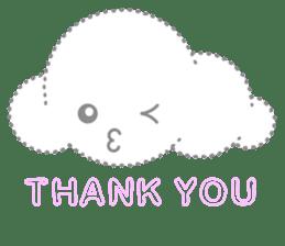 Cloudy Cute sticker #602710
