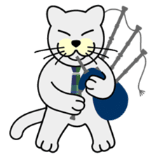 otonaneko in scotland sticker #603410