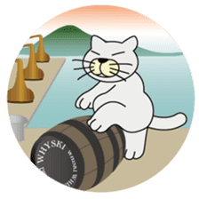 otonaneko in scotland sticker #603422