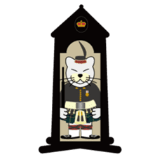 otonaneko in scotland sticker #603438