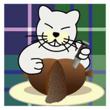 otonaneko in scotland sticker #603441