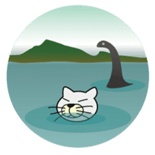 otonaneko in scotland sticker #603443