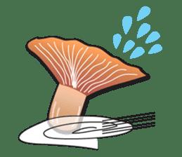 Mushroom sticker #603576