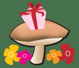 Mushroom sticker #603579