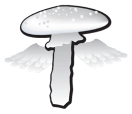 Mushroom sticker #603587