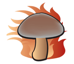 Mushroom sticker #603591