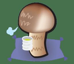 Mushroom sticker #603598