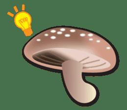 Mushroom sticker #603605