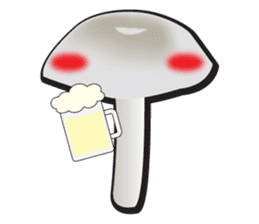 Mushroom sticker #603609