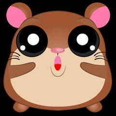 Boola, the happy hamster