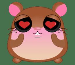 Boola, the happy hamster sticker #603690