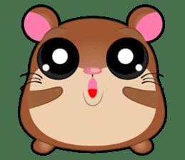 Boola, the happy hamster sticker #603692