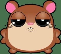 Boola, the happy hamster sticker #603696